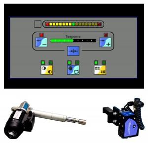 Bahnführungs Touchscreen