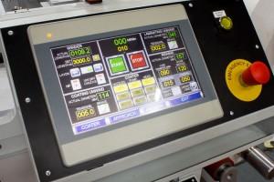 Hot melt coater controls