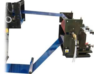 HMCS 420 instalado en una prensa de impresión.
