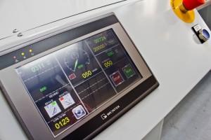 Low cost slitter X1 touchscreen