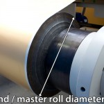 Unwind Diameter on a Slitter