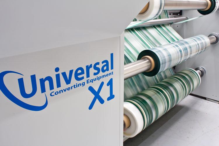 Low cost X1 Slitter machine running rolls
