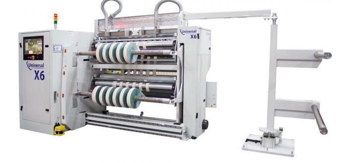 Rollenschneidemaschine X6 für flexible Materialien