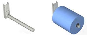 Manipulación de bobinas de un solo brazo