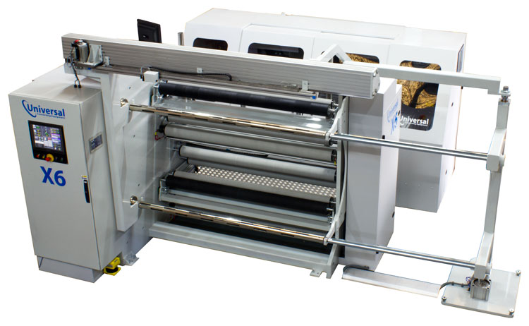X6 Laser perforation and inspection slitter rewinder