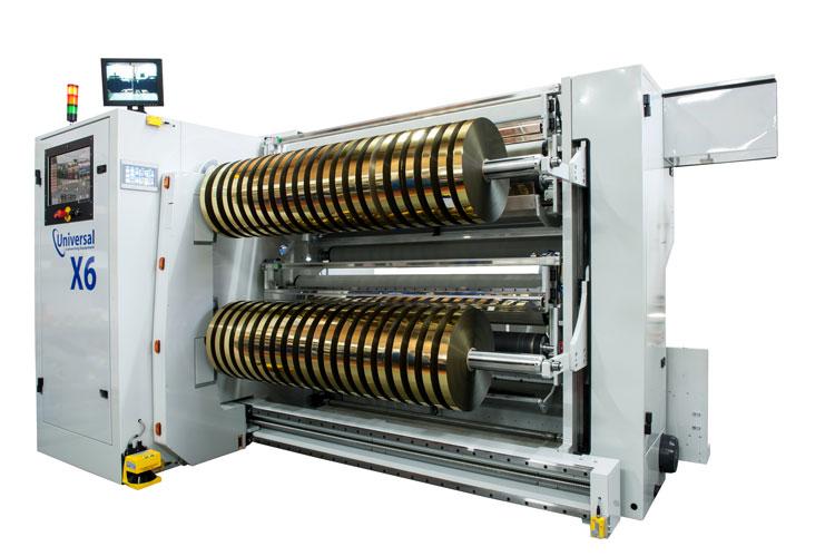 Automated Slitter Rewinder - X6